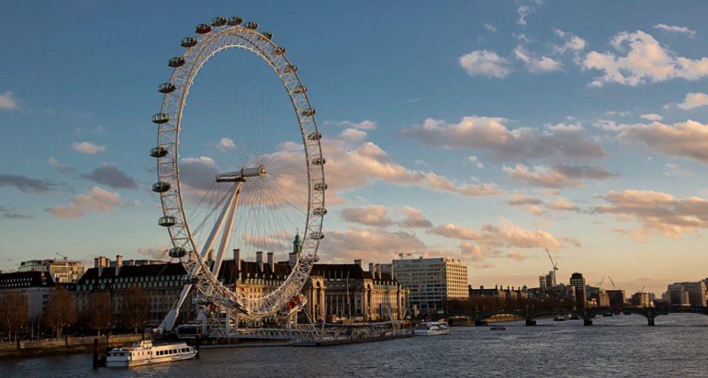 Londen Eye Thames