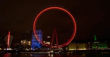 london eye nacht